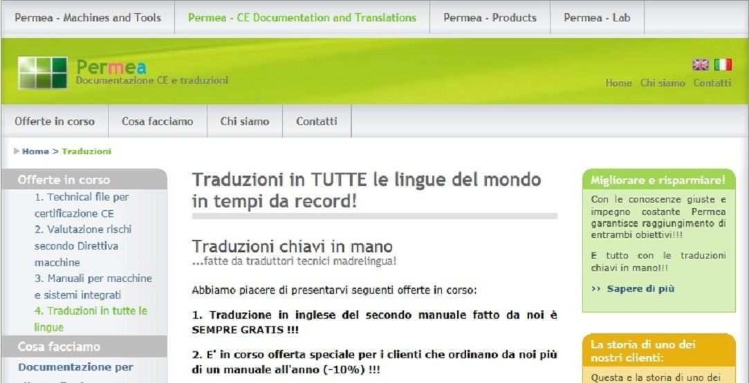 Traduzioni in tutte le lingue