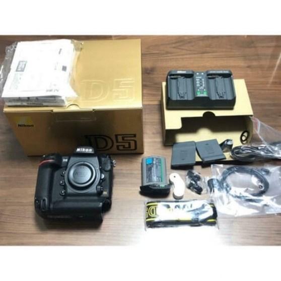 Nikon D5 DSLR Fotocamera (solo corpo, doppie slot XQD)