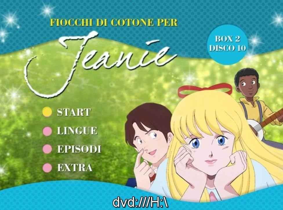 FIOCCHI DI COTONE PER JEANE IN DVD