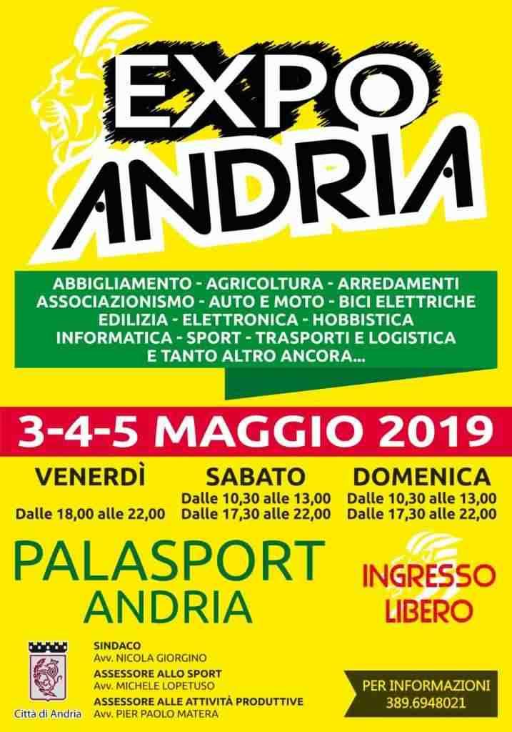 expo andria palasport