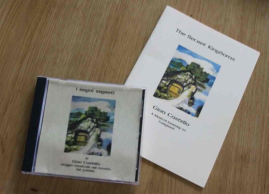 Musica Celtica CD e BOOK GIAN CASTELLO - I REGNI SEGRETI