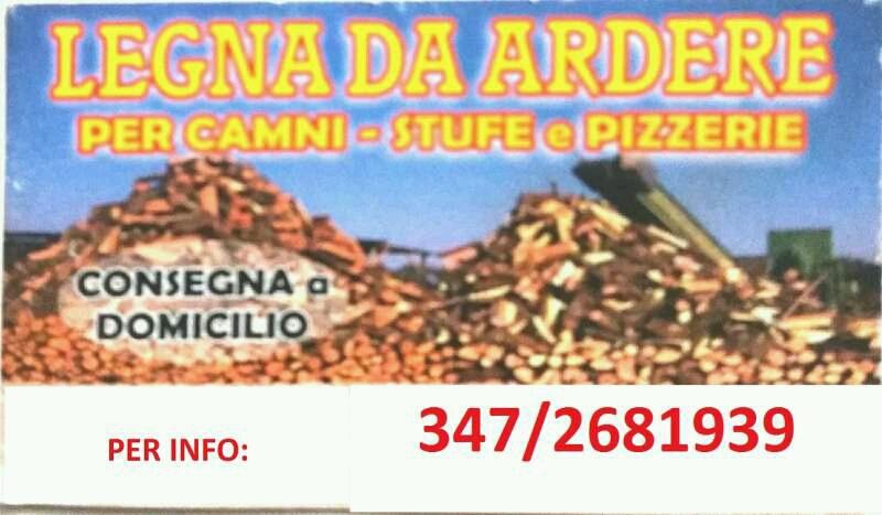 Legna da ardere Reggio nell'emilia e paesi limitrofi