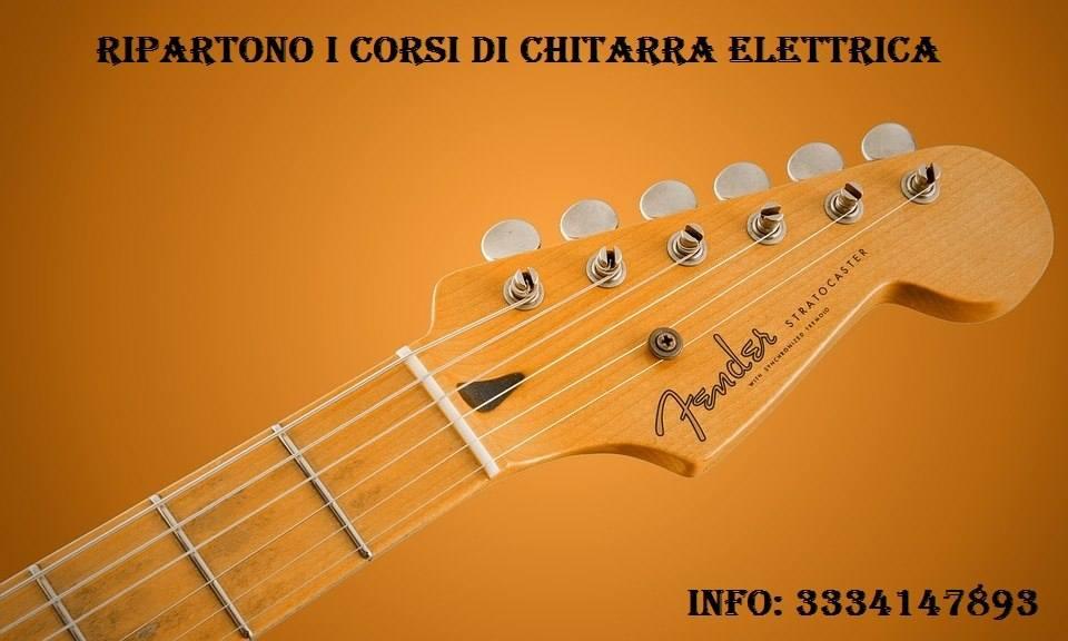 Lezioni di chitarra elettrica classica e acustica e teoria musicale