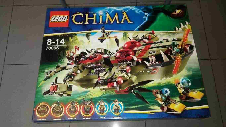 LEGO Chima La nave Coccodrillo di Cragger 70006  NUOVO