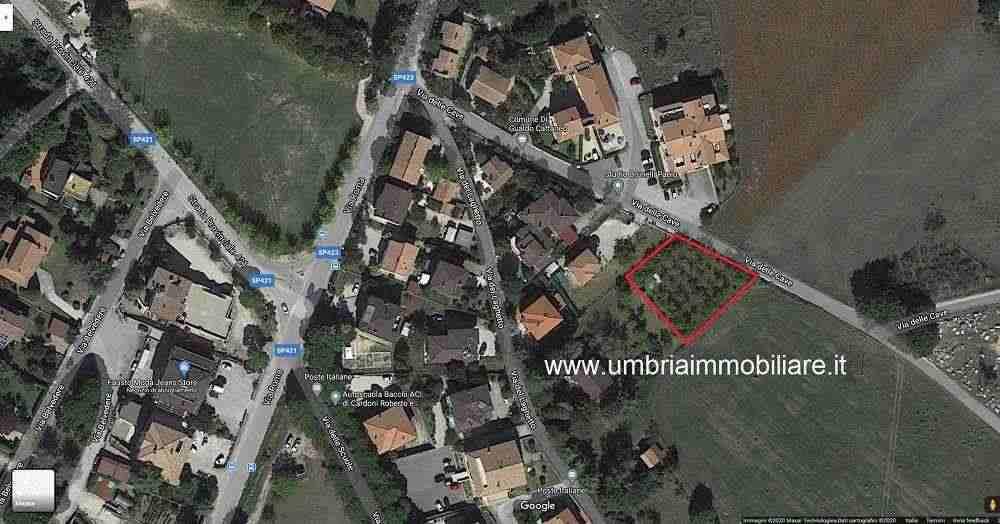 Rif. 425 terreno edificabile a San Terenziano di Gualdo Cattaneo