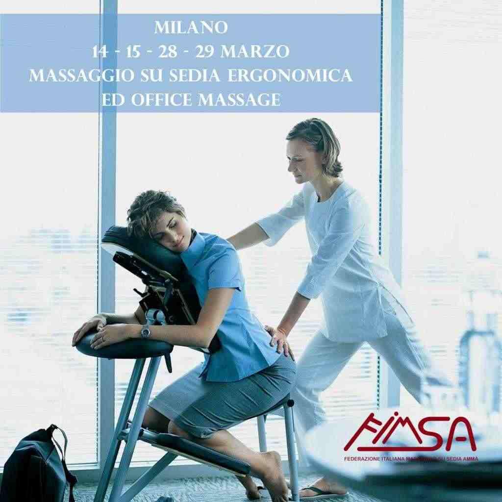 Corso Massaggio su Sedia Ergonomica & Office Massage