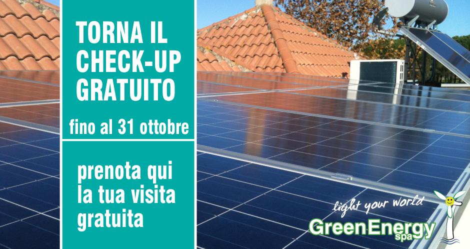 Check-up Gratuito per il tuo Impianto Fotovoltaico!