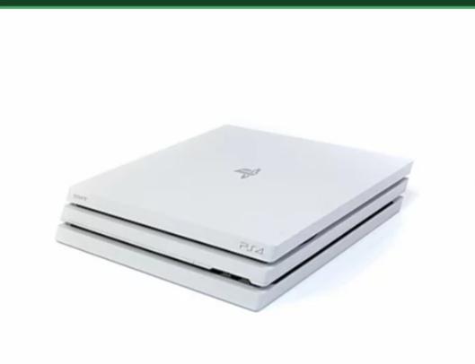 Sony ps4 pro console 1tb Bianco + nuovi controller-console di gioco-PLAYSTATION