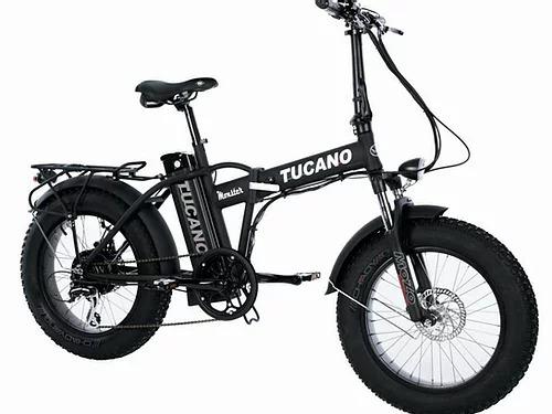 Potente e pieghevole: Così abbiamo definito la nuova Fat Bike da 20 pollici di Tucano. Con i suoi 50