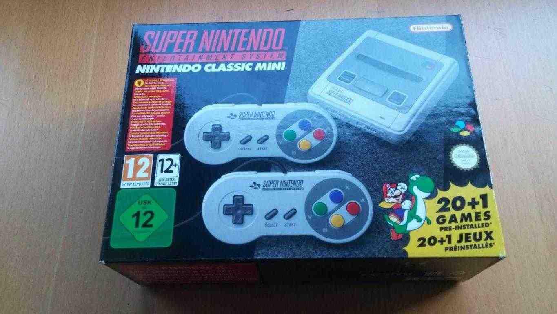Nintendo classic mini NUOVO