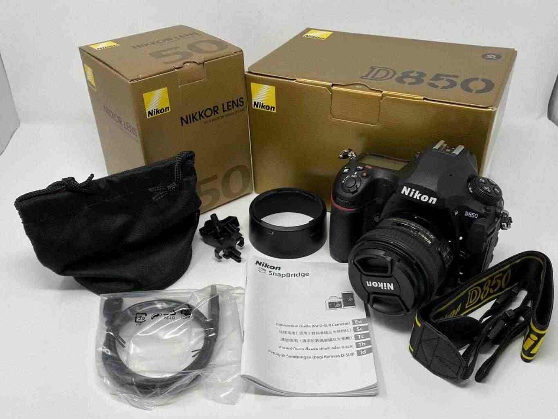 Nikon D850 45.7MP FX Digital SLR Camera With Nikkor 50mm f/1.4G Lens