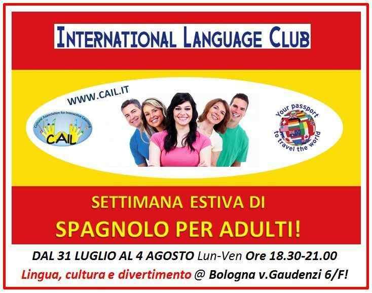 ESTATE SPAGNOLA a Bologna – International Language Club!