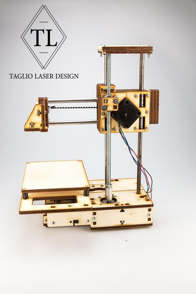 mini stampante 3d piatto 10x10 cm