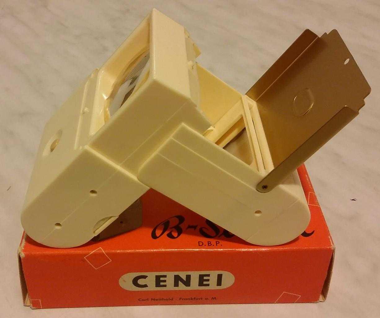 Visore dia CENEI B-Scoper D.B.P. anni ླྀ Made in Germany+scatola come nuovo