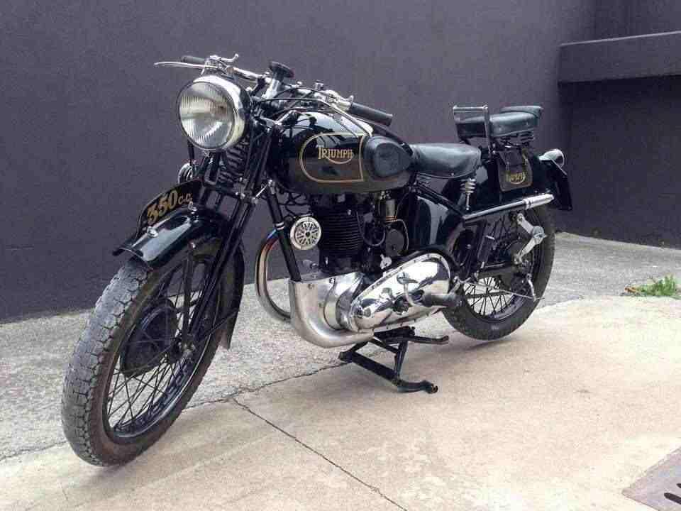 TRIUMPH Model 3H, 350 cc, 1940