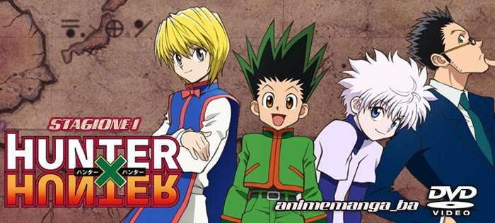 Hunter X Hunter - serie completa in DVD