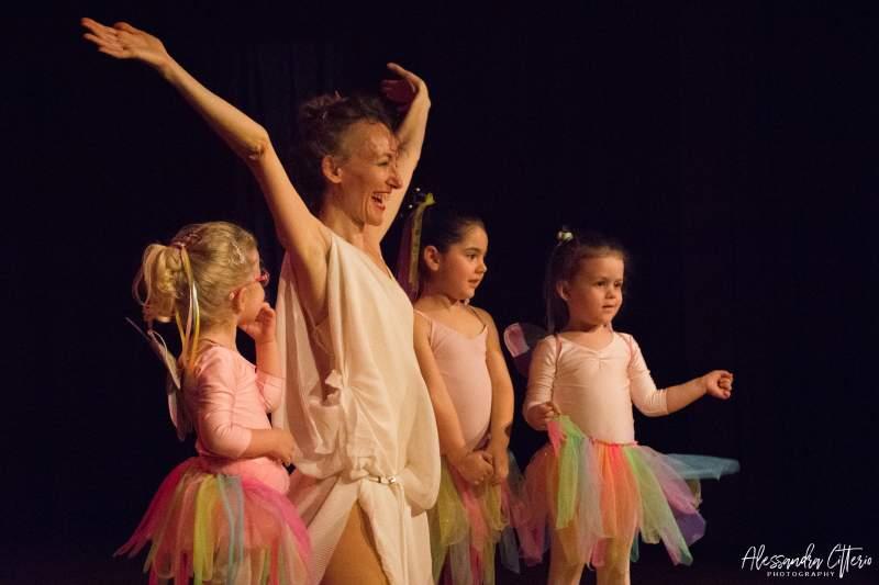 Corso Danzare per crescere insieme dai 2 ai 6 anni