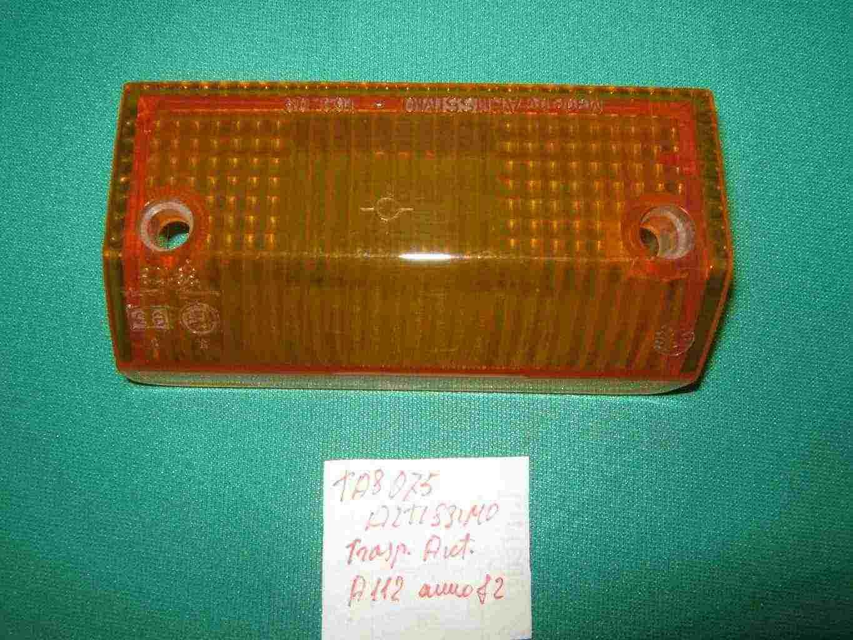 Trasparente anteriore A 112 lato sx anno 82  d'epoca