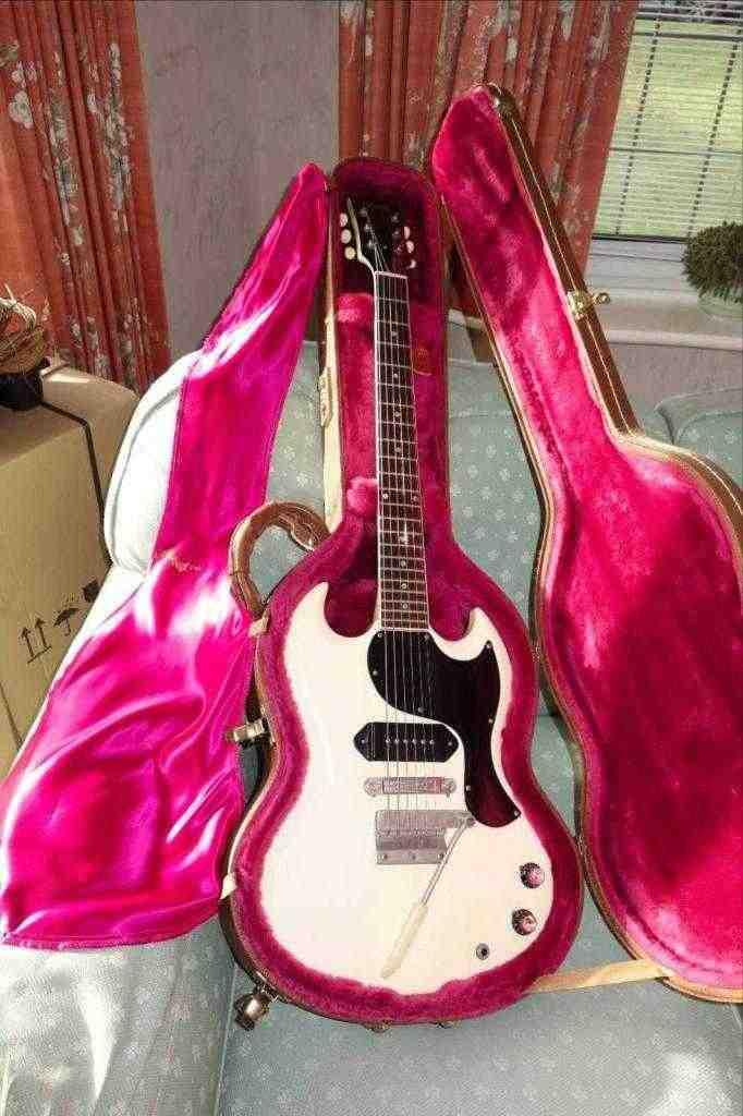 Gibson SG Junior 1965 bianco