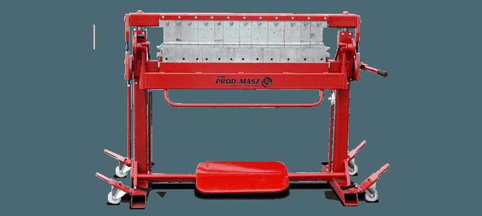 Piegatrice per lamiera con lame a segmenti SGR-1400/1.5/160
