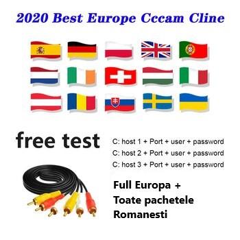 Linee CCcam - Oscam Full Europe