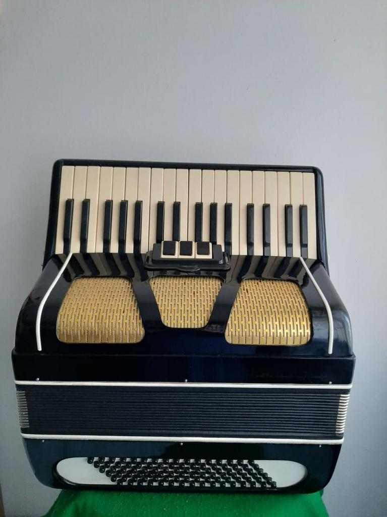 fisarmonica 96 bassi e 34 tasti al canto
