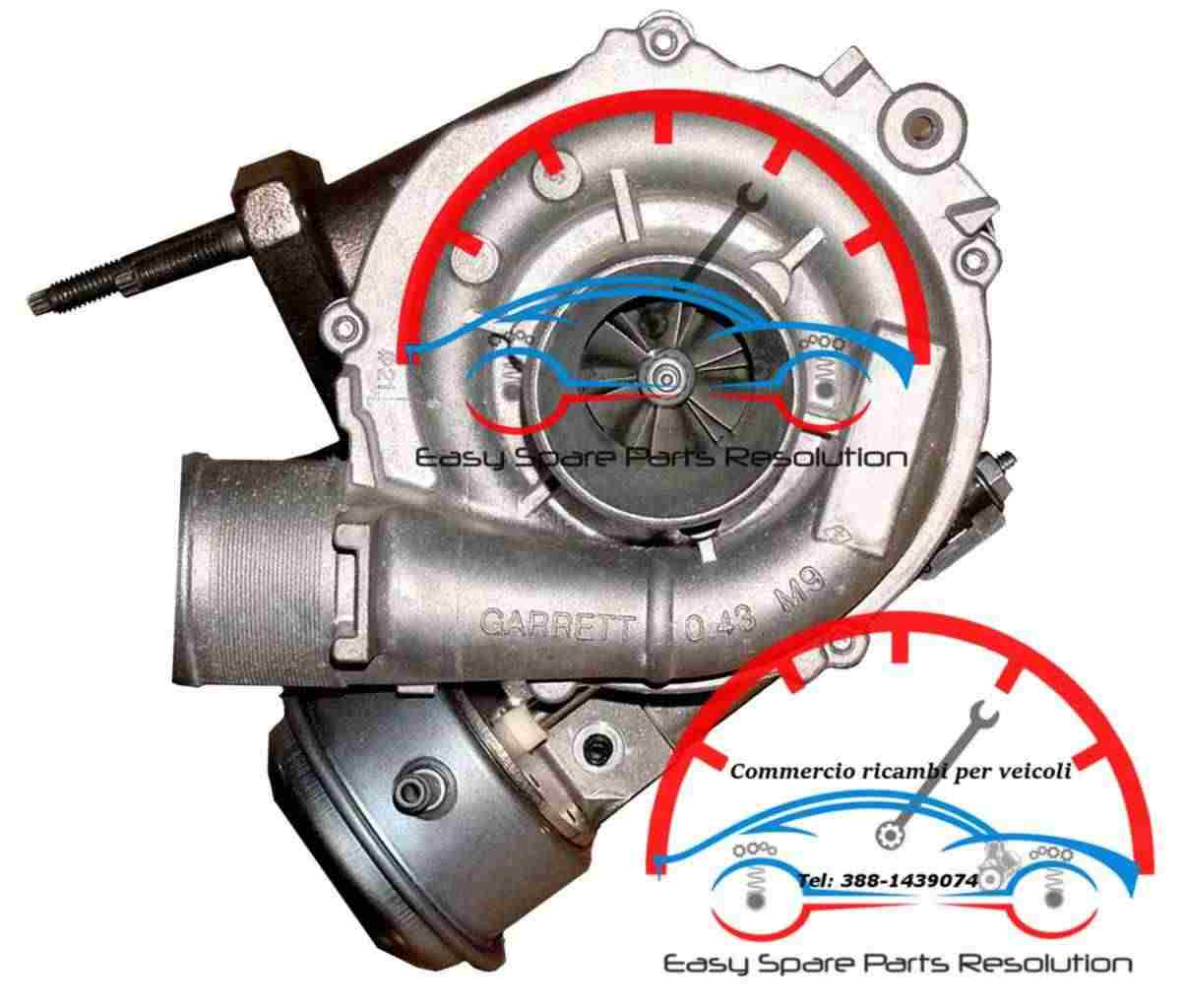 1441100Q0F Turbina Nissan Qashqai I
