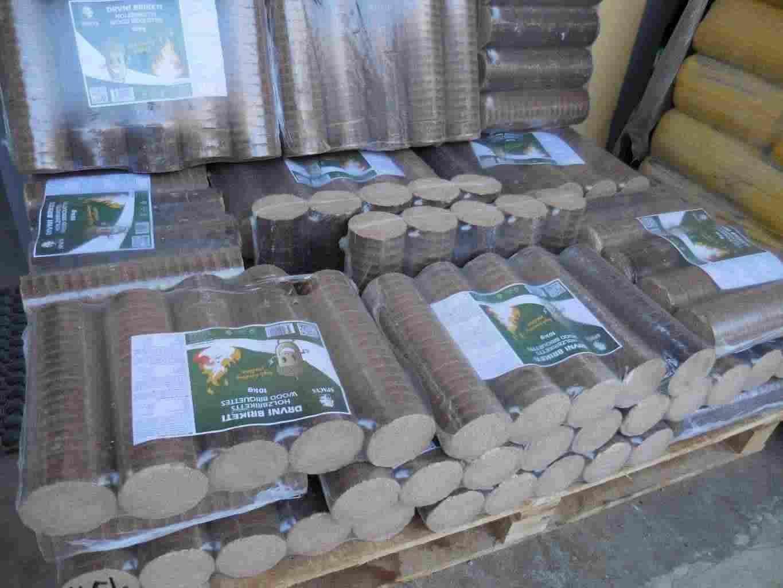 Tronchetti in legno per stufe e caminetti