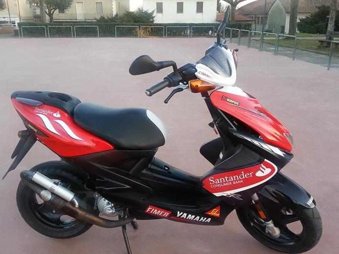 Aerox-R SANTANDER Limited 2010 / 8000 KM