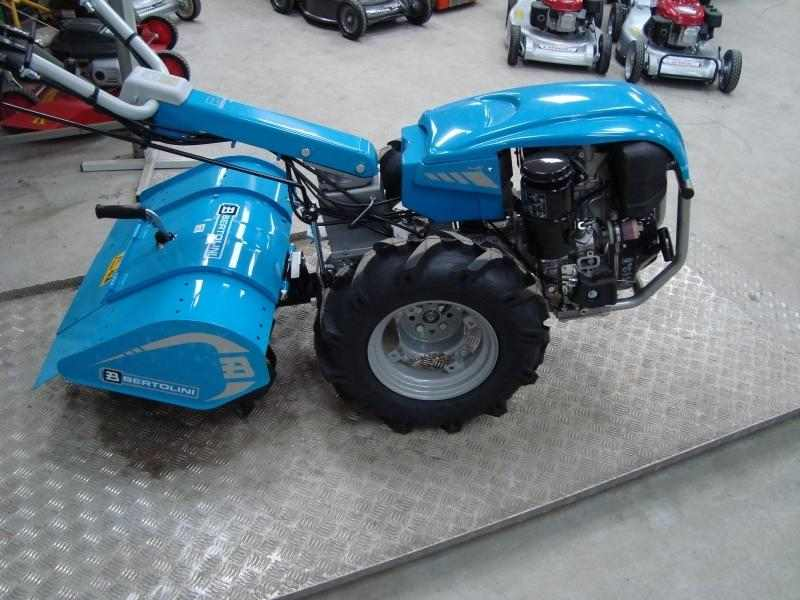 Motozappa BERTOLINI 411 Motore Lombardini 15LD400 10 CV Diesel