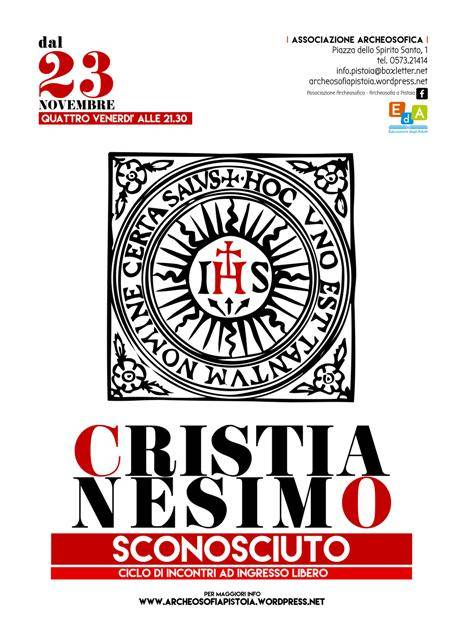 CRISTIANESIMO SCONOSCIUTO