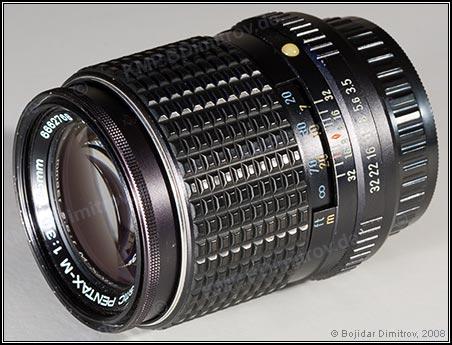 Obiettivo Pentax 135mm