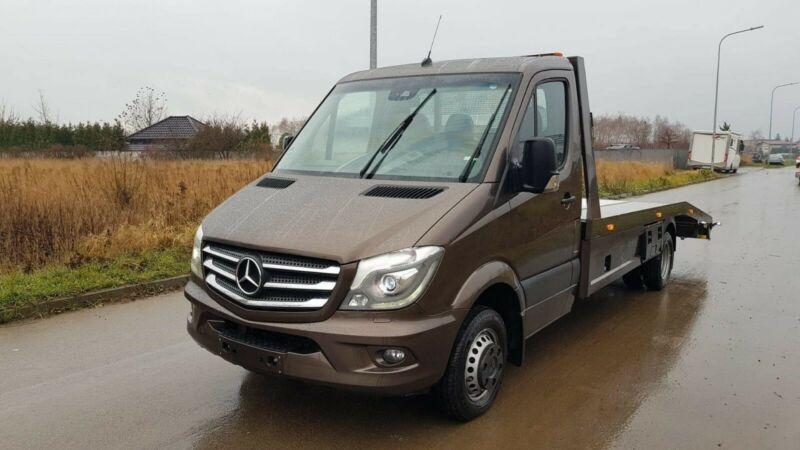 Mercedes-Benz 519 CDI V6 Sprinter 906