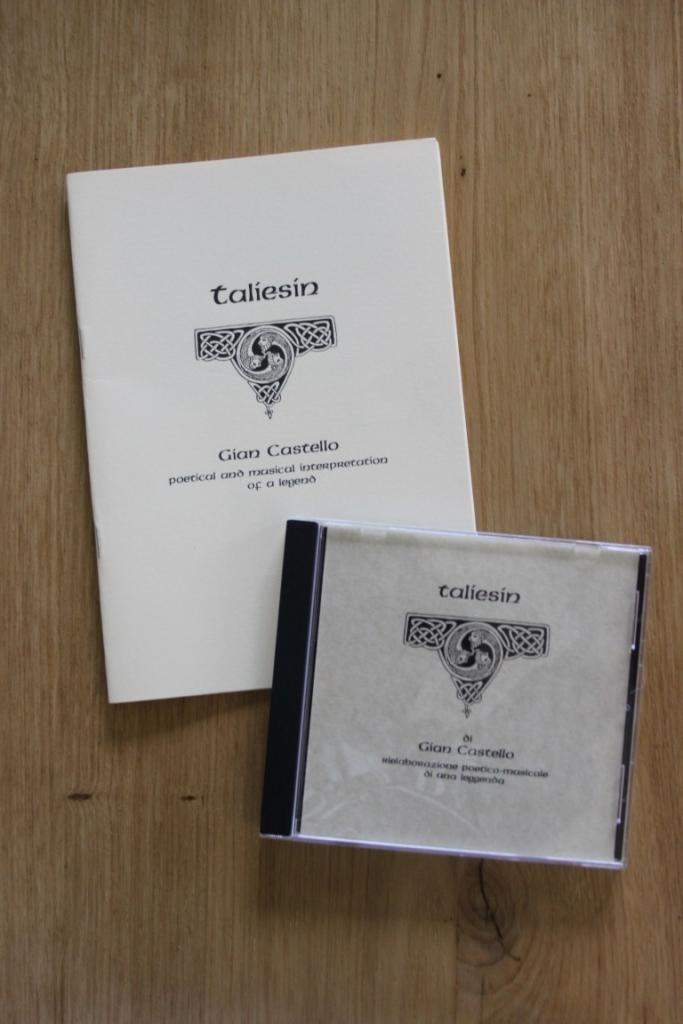 Musica Celtica CD e BOOK GIAN CASTELLO - TALIESIN - MINT