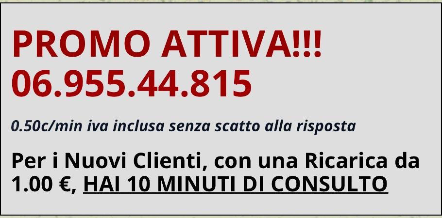 Febbraio in Promo! 10 Minuti ad 1 Euro!