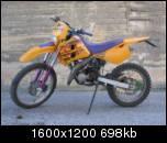 KTM EXC K50 RICAMBI USATI