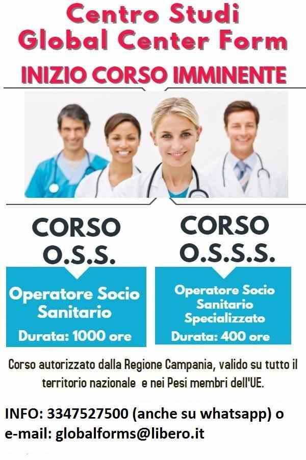 Corso Operatore Socio Sanitario (O.S.S) e (3°S)