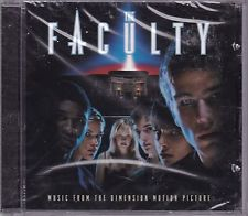 CD THE FACULTY MUSIC FROM THE DIMENSION MOTION PICTURE NUOVO ORIGINALE