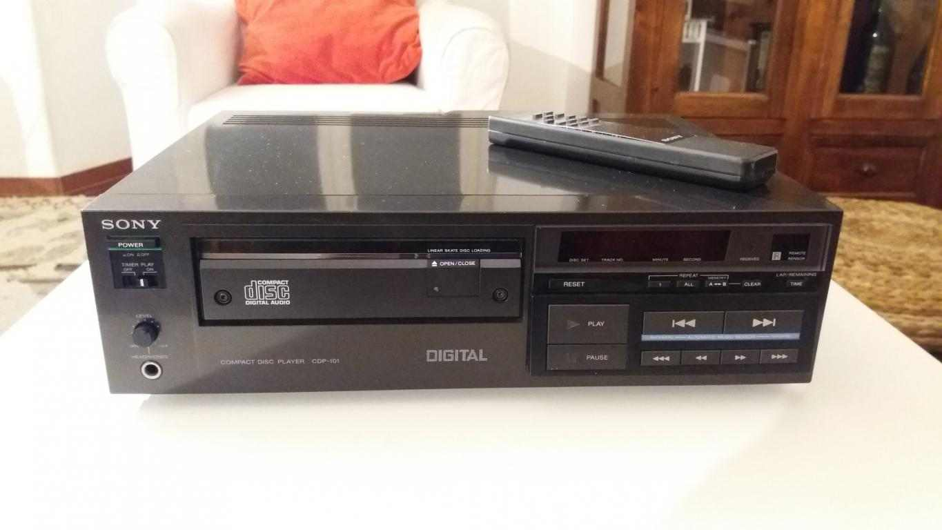 Lettore Compact Disc SONY CDP-101