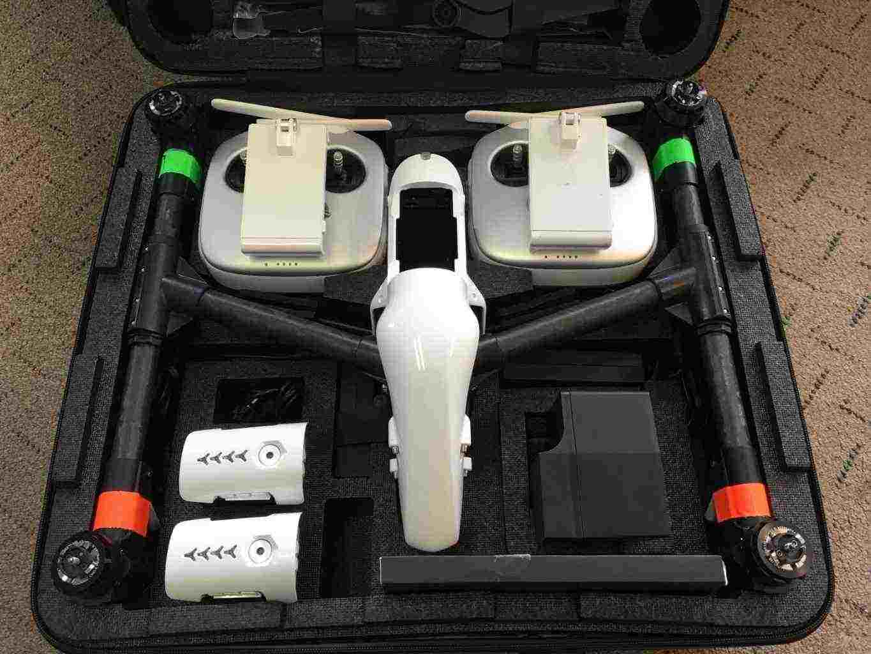 drone DJI Inspire v1 Drone 4k Dual Controllers