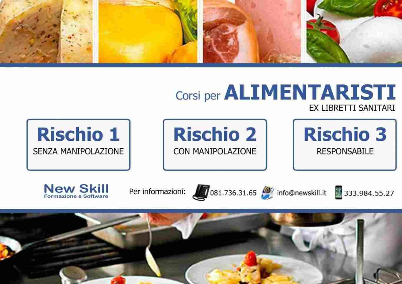 Corsi per Alimentaristi - Ex Libretti Sanitari