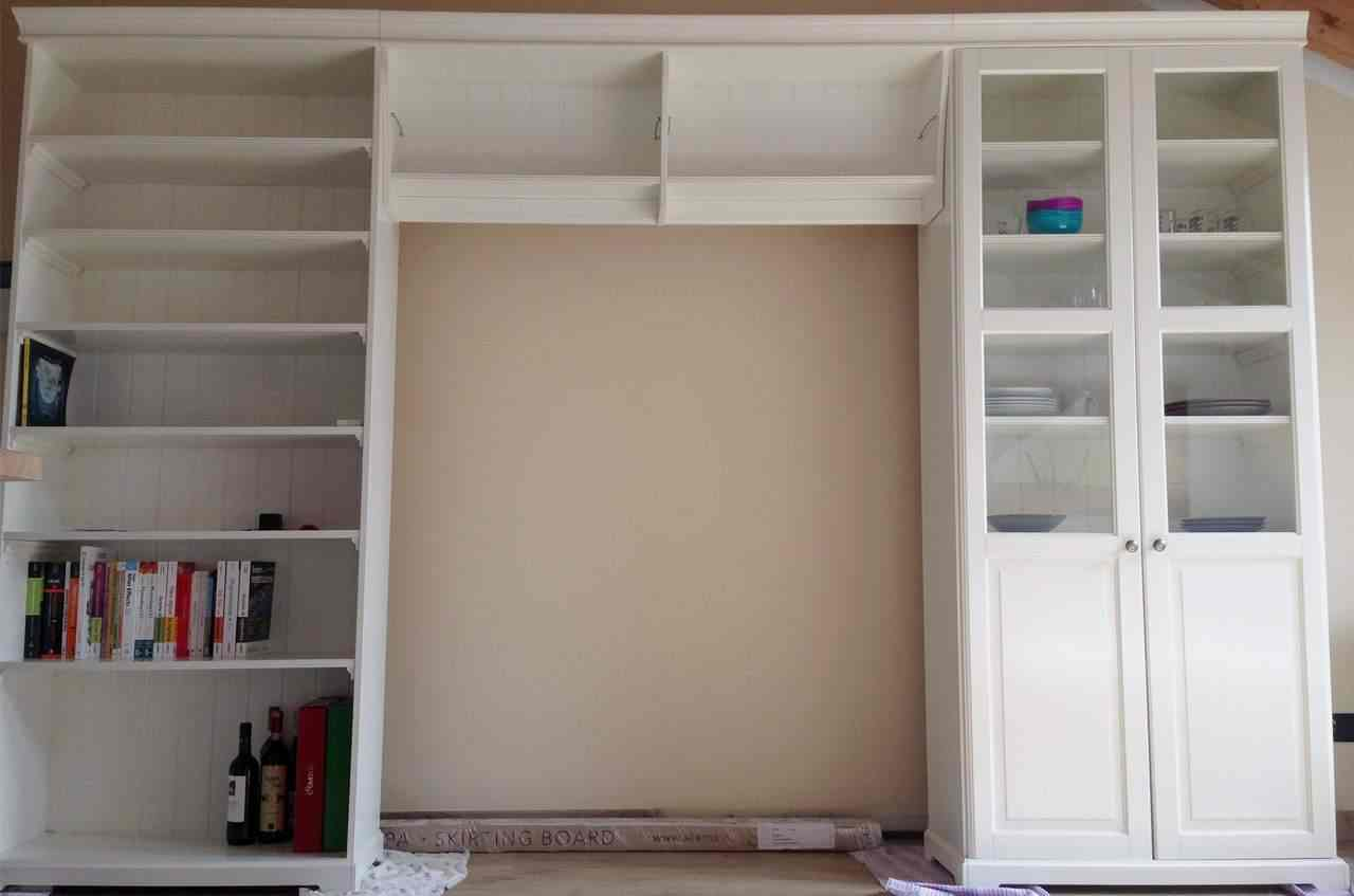 IKEA Mobile TV LIATORP completo - Parete soggiorno porta tv