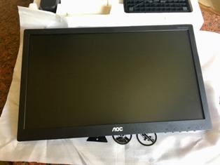 """Schermo AOC 19"""" x Computer"""