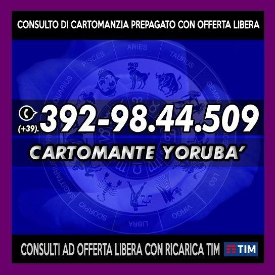 ★☆★ Cartomante Yoruba' - Consulto Telefonico Con Offerta Libera ★☆★