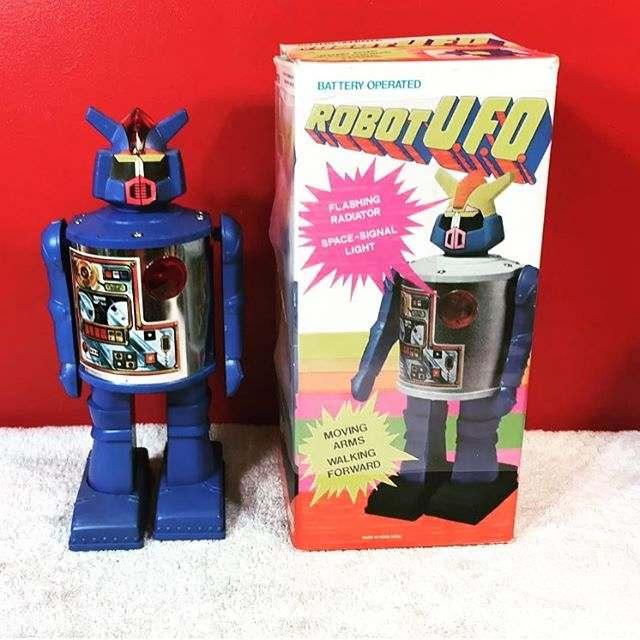 acquisto robot giocattolo anni 80