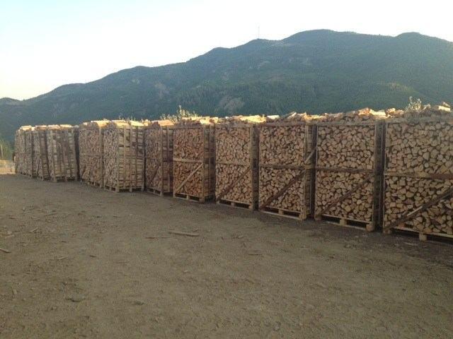 legna da ardere in bancali e pellet