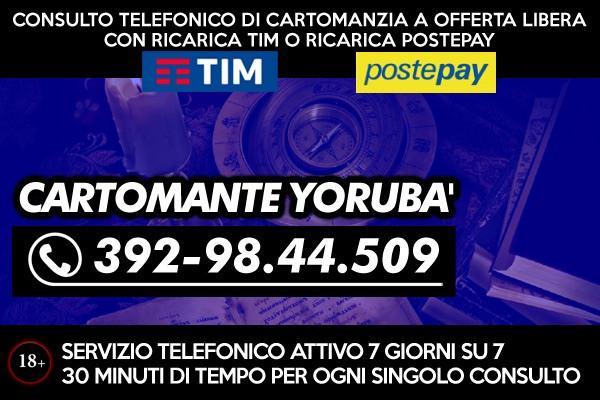 Studio di Cartomanzia Yoruba' - Consulenza esoterica telefonica