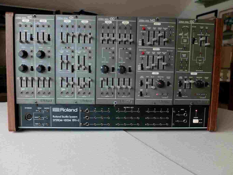 "Roland System 100m analogico sintetizzatore modulare, model &quotD"""