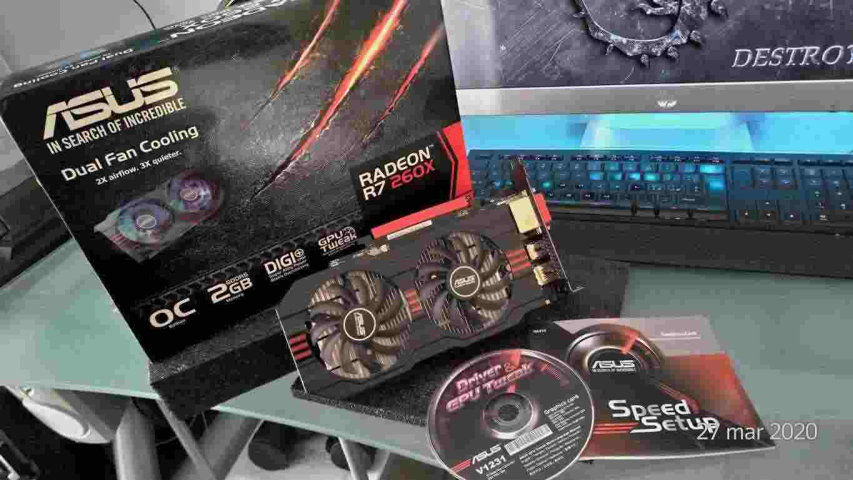 Scheda Video Radeon R7 260X Asus