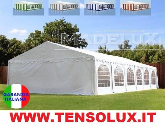 Tendone per feste 10x5m PVC party grigliate gazebo